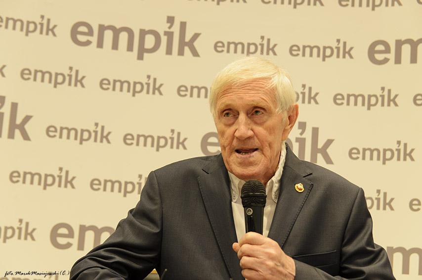 Jacek Gmoch z nową książką w Empik Manufaktura