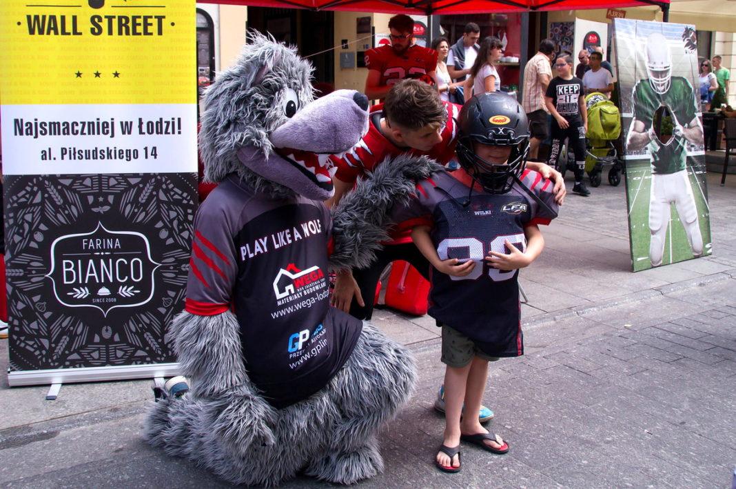 Dzień Dziecka na ulicy Piotrkowskiej