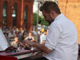 Kuba Raczyński na inauguracji Manu Summer Jazz Sundays
