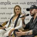 Blue Cafe spotkanie z fanami w Empiku Manufaktura oraz promocja najnowszej płyty