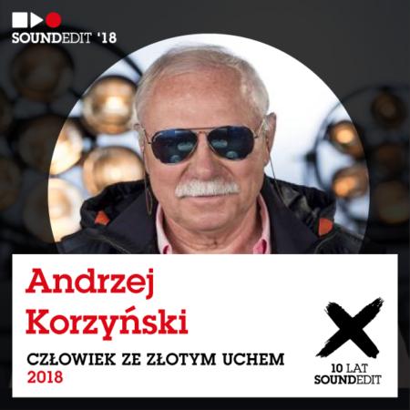 Soundedit 2018: Andrzej Korzyński