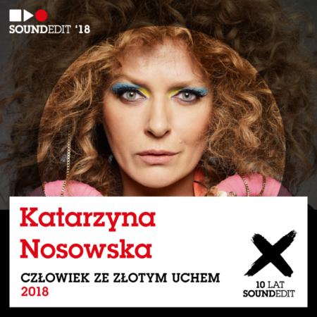 Soundedit 2018: Katarzyna Nosowska