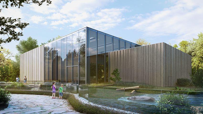 W łódzkim Zoo powstaje wybieg dla Hipopotamów