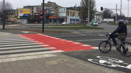 Rondo Solidarności w Łodzi
