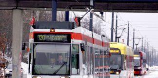 Parada tramwajów łódzkich na 120-lecie komunikacji miejskiej