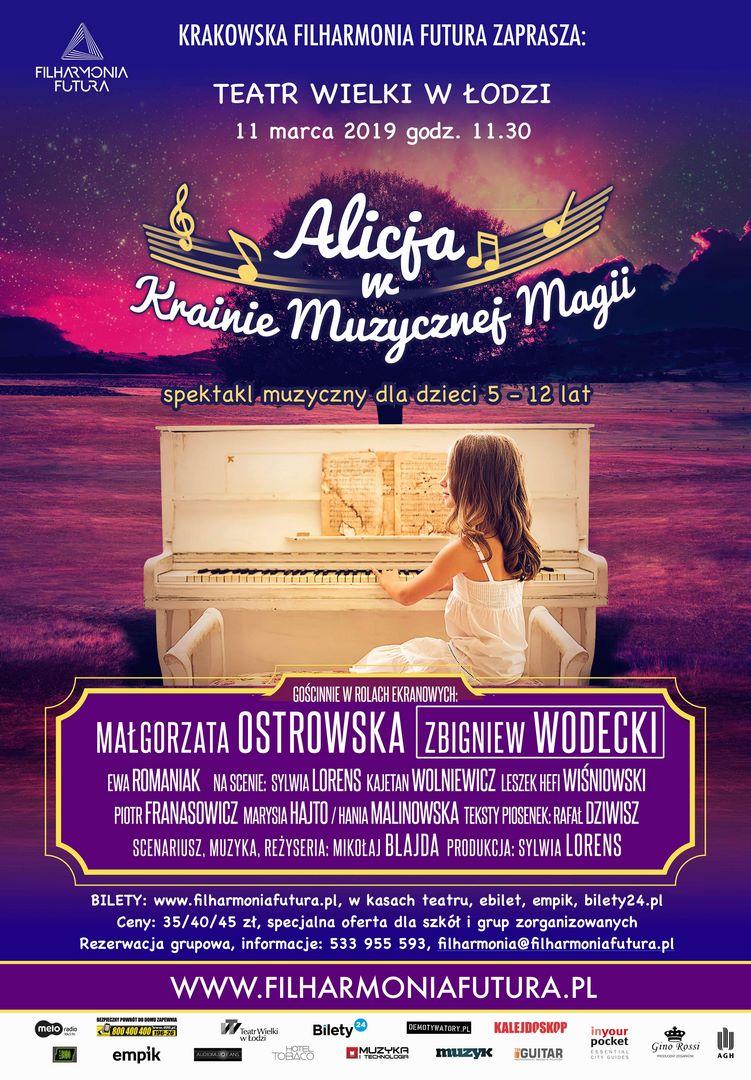 Alicja w krainie muzycznej magii - Filharmonia Futura