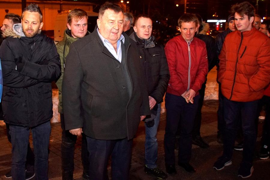 Msza Święta z udziałem zawodników Orła Łódź