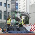 Pomnik Jednorożca w Łodzi [ZDJĘCIA]