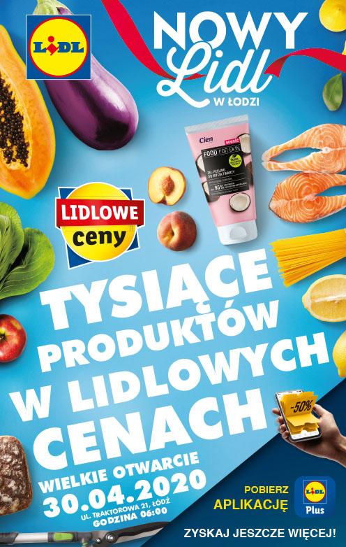 Nowy Lidl w Łodzi