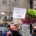 Pikieta Stop agresji LGBT w Łodzi
