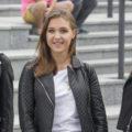 """Miss Polonia Województwa Łódzkiego na dworcu """"Fabrycznym"""" w Łodzi"""